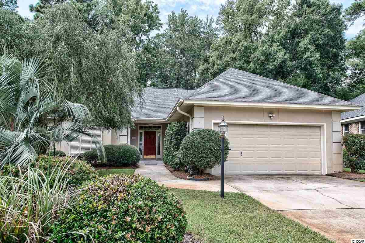 This home offers the best of everything for a small family, starter home, retirement, or simply downsizing. It's cozy and inviting with lots of natural light and unique features.   The beautiful entry gate and draping live oaks are welcoming and many say there's an instant feeling of peace when you come through those gates.  The Jack Nicklaus gated golf course community  has lots of social activities for the golfer and non golfer. The location of the home offers many benefits and has easy entry in and out of the community away from the main road. The home has been a second home and has never been rented.  Enjoy low HOA fees that include security gate, trash pick up, cable, internet, and phone. There are different types of memberships with low up front costs and reasonable fees if you choose to join the  Pawleys Plantation Club, but it's not mandatory.  If you do choose to join, there is a tennis court, pool, and large ladies and men's groups for fun with annual tournaments for all level of players.  The Pub is open daily for everyone's enjoyment.  The community has activities for all as does the surrounding areas. Our beaches are beautiful and just minutes away. Access the Intracoastal Waterway and numerous rivers from several locations for boating, kayaking, and local guided tours. Historic Georgetown,Charleston, Myrtle Beach, and Pawleys provide great shopping, activities, events, and fine dining. Let me show you why this is the right community and home for you. Inventory is low in Pawleys Plantation, so call today.