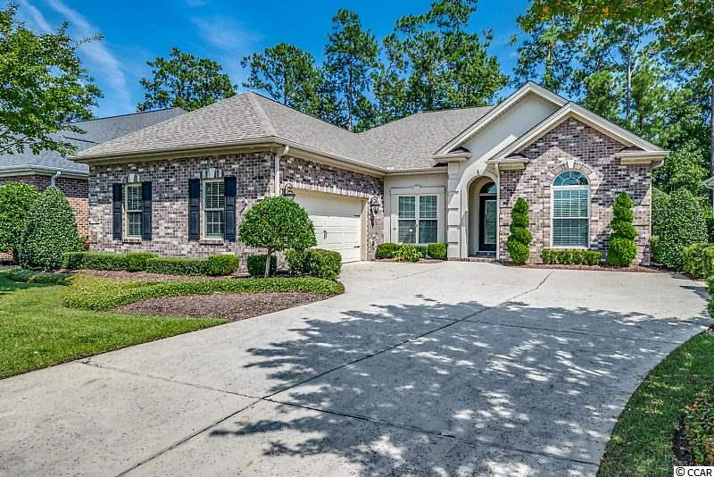 This beautiful 3 bed 2 bath all brick home is waiting for you. The Sable Plan my favorite!!!!  This was the MODEL HOME for Cipriana Park-Grande Dunes!!!! All the extras and upgrades a fine home would desire....The open floor plan , all on one floor...is bright and inviting, welcoming you into a home full of casual elegance. Side Load 2 car garage, Tray ceilings, stainless steel appliances, and built speakers are just a taste of the small touches that elevate this home. Outside on the covered back patio,  you'll find a well-maintained yard, english gardens professionally landscaped with lighting and  a charming water feature. Just a short ride from the beach the location of the lovely home is not to be overlooked. Located in Cipriana Park at Grande Dunes this home provides you with membership to the exclusive Grande Dunes Ocean Club just 1/2 a mile away. This home is an absolute must see in a fantastic community. Golf Cart ride to Beach, Dining, Publix, Marina, Ruth Chris, and lots more... Location Location is the KEY!!!