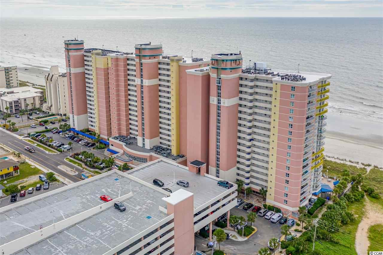 Come check out this great 4th Floor true 1 Bedroom Oceanfront Condo in the Baywatch Resort located in the Crescent Beach area of North Myrtle Beach! This unit has new furniture, appliances, flooring and sliding door/windows, and is a true 1 bedroom floor plan that also includes a murphy bed for extra guests. The kitchen has a full size refrigerator, stove, as well as new ceramic tile throughout the living area and new carpet in the bedroom.  This unit comes with a washer & dryer which is not common in the smaller one bedrooms.  The bathroom has a Jacuzzi Tub. Drive up to the front steps, be greeted by a bell captain to assist with luggage and valet parking! There is a concierge service, as well as the convention facilities, a full service restaurant and they are all located in the Central Tower!  Baywatch has indoor/outdoor pools, lazy river, Jacuzzis, fitness center, convention space, restaurant, sports and a tiki bar - everything needed for a great vacation! HOA fees are very affordable and include electric, cable and internet.