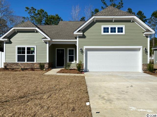 """The """"Ameila"""" model on lot 15 at Freewoods Park is a 3 bedroom, 2 1/2 bath, two story home on the culdesac you do not want to miss! Welcome to Myrtle Beach and Freewoods Park... a great new neighborhood located in the St. James area of greater Myrtle Beach! TheFreewoods Park Community is proud to offer a great lineup of single-story and two-story homes that range from 1,411 to over 2,100heated square feet. These homes offer durable vinyl exteriors with stone and brick accents. There are 6 models with various elevationsto choose from, the subdivision has a custom home feel and look, yet with an amazingly affordable price! Freewoods Park is an intimate32 lot subdivision offering a relaxing neighborhood setting with light HOA restrictions for the laid-back lifestyle. But the real beauty andvalue of Freewoods Park begins with the free-flowing designs and upgraded interior features. Inside our homes are open concept layoutswith granite countertops in the kitchen and all baths, crown molding in featured areas, recessed and pendant lighting, full wood-framedwindows, staggered height cabinets with crown molding, and a whole list of energy efficient features that will save you money monthafter month. Step outside under your included covered back porch and enjoy your morning coffee or afternoon cocktail along with agentle coastal breeze and the sounds of nature. Freewoods Park Subdivision is only a short drive to Surfside Beach """"The Family Beach"""",Murrells Inlet Marsh Walk, Brookgreen Gardens, shopping, and dining, but you're living in a quieter residential area away from all thetourist traffic. Now's the time for you to come discover Freewoods Park. Don't miss your chance to own one of these homes! FreewoodsPark lies close to Highway 707 and Highway 31. Both are major connectors in the area which link the laid back south end of the Grand Strand with the excitement and services offered in Myrtle Beach and North Myrtle Beach. Photos are from a previously built Amelia."""
