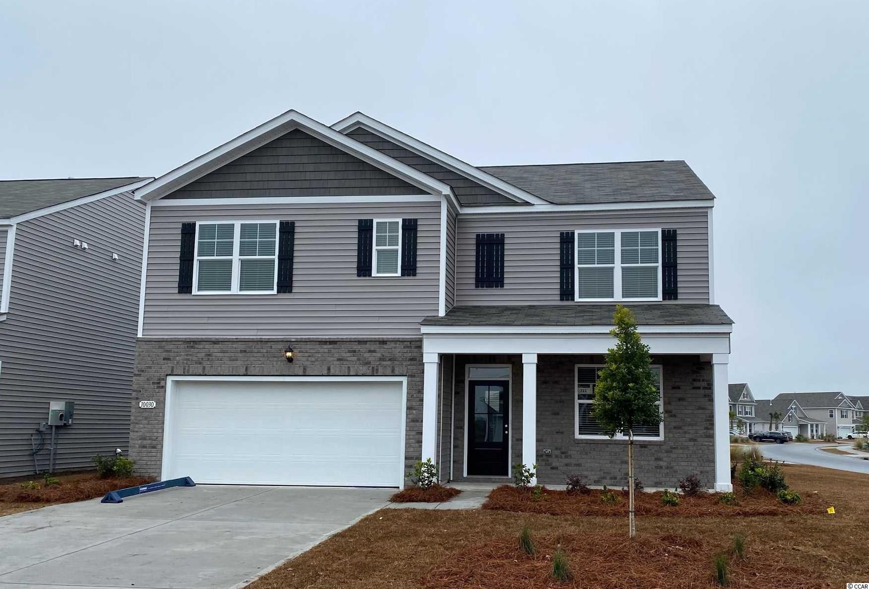 Your style, your way. This expansive plan offers so many great features! Open concept living room, dining room, and kitchen plus a flex space with French doors that could be a dedicated home office or formal dining room. A bedroom with full bath on the main level is great for guests visiting you at the beach and the rear screen porch and patio off the dining area creates a seamless transition from indoor to outdoor living. Upstairs you will find the generous owner's suite with two walk-in closets and en suite bath that boasts a double vanity and large shower. The laundry room, remaining 3 bedrooms, and versatile loft space complete the upstairs! Garage door opener, granite in the kitchen, laminate flooring in the main living areas, and our industry leading smart home technology package all included!  *Photos are of similar Hayden home. (Home and community information, including pricing, included features, terms, availability and amenities, are subject to change prior to sale at any time without notice or obligation. Square footages are approximate. Pictures, photographs, colors, features, and sizes are for illustration purposes only and will vary from the homes as built. Equal housing opportunity builder.)