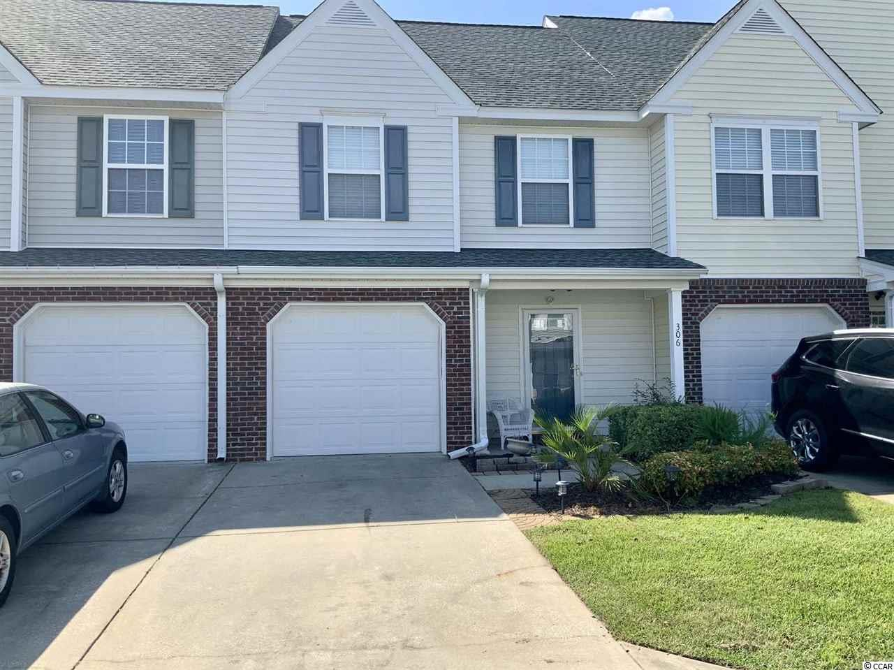 Welcome home to this beautiful 2 bed/ 2.5 bath townhome located in the heart of Murrell's Inlet in The Wynbrook community. You have everything you could possibly need with this purchase including upgraded flooring in the foyer area and upstairs. Enjoy the open layout from the kitchen area to the living area. Plenty of space for friends and family to enjoy time together. Venture upstairs to find your living area where you have beautiful views from your master and guest bedroom. Wynbrook is in Murrell's Inlet where you have fishing, restaurants, shopping and all the entertainment one could desire. Schedule your showing today!
