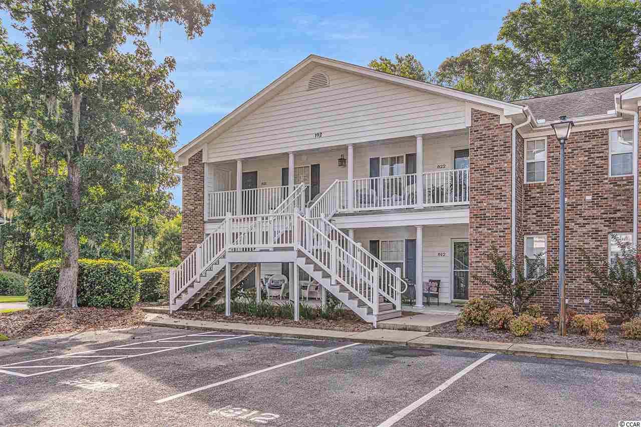 This first floor 2 bedroom and 2 bathroom condo is nestled in the heart of Pawleys Island. The property features a spacious layout with updated luxury vinyl plank flooring, and shiplap to add a cozy feel. Additionally, the unit has a large kitchen with breakfast bar and plenty of cabinet space, a washer and dryer, and a back porch surrounded by greenery. Egret Run is a peaceful community that is impeccably maintained with a community pool. The condo is located just over one mile to the nearest beach access, and less than two miles from top rated golf courses on the Grand Strand, such as True Blue, Caldonia, and Heritage Golf Club. Square footage is approximate and not guaranteed. Buyer is responsible for verification.