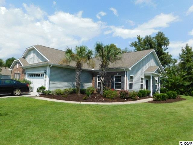 Unique paired ranch area in Carolina Crossing in Little River. The HOA takes care of the lawn, mulching, irrigation, annual pressure washing, cable, INSURANCE plus more. Enjoy sitting at the community pool or listening to the birds from your own screened porch /outdoor patio.  This 3 bedroom, 2 full bath home features a cathedral ceiling in living room, solid surface countertops with a large breakfast bar, stainless appliances, plenty of storage, separate laundry area, split bedroom plan and tile in all wet areas. Master has double sinks, a walk-in shower, over sized garden tub plus large walk-in closet. Close to main attractions, shopping, golf courses, hospital and main roads. Call for your showing today.