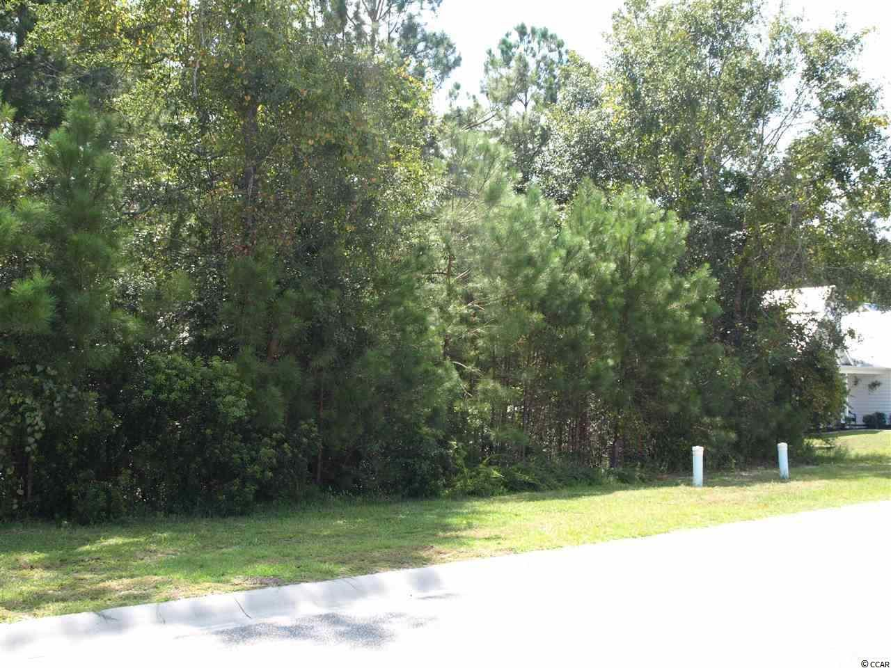 Wonderful opportunity to get a DEAL on a lot ! Located in a quiet neighborhood in Little River close to all area attractions.  No time frame to build and use your own builder ! Lot is 70 feet wide and over 200 ft deep. Backs up to green space area - very private.  Very family oriented neighborhood with no through streets.