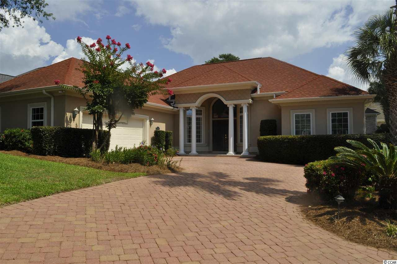 "Beautiful, gated community of Seaside Plantation, located just 2 short blocks to the Atlantic Ocean.  The house is situated on a large corner lot, beautiful landscaping, fenced back yard.  As you enter bedroom on right has been used as an office, formal dining room, family room with fireplace, large kitchen with breakfast nook area, 48"" Cabinets with pull out shelving, corner cabinet with turntable.  Kitchen is equipped with stainless steel appliances, granite counter tops.  Split bedroom plan, 3 full bedrooms, 2 1/2 baths, with separate bonus room for office.  Laundry with deep sink and shelving,  just off the garage.   Large master suite area, trey ceiling, has his and her closets with shelving, his and her vanities, Jacuzzi tub and walk-in shower.  Upgrades galore in bathroom and throughout. also security system. Leaf filters. brick driveway and brick patio in back yard with beautiful fountain and fence.  All windows treatments convey.  This great community is just blocks to Main St., near shopping centers, golf and restaurants.  There is a community center with pool, heated spa, and large clubhouse great for entertaining and neighborhood gatherings.  This is one of the most desirable locations in the North Myrtle Beach area."