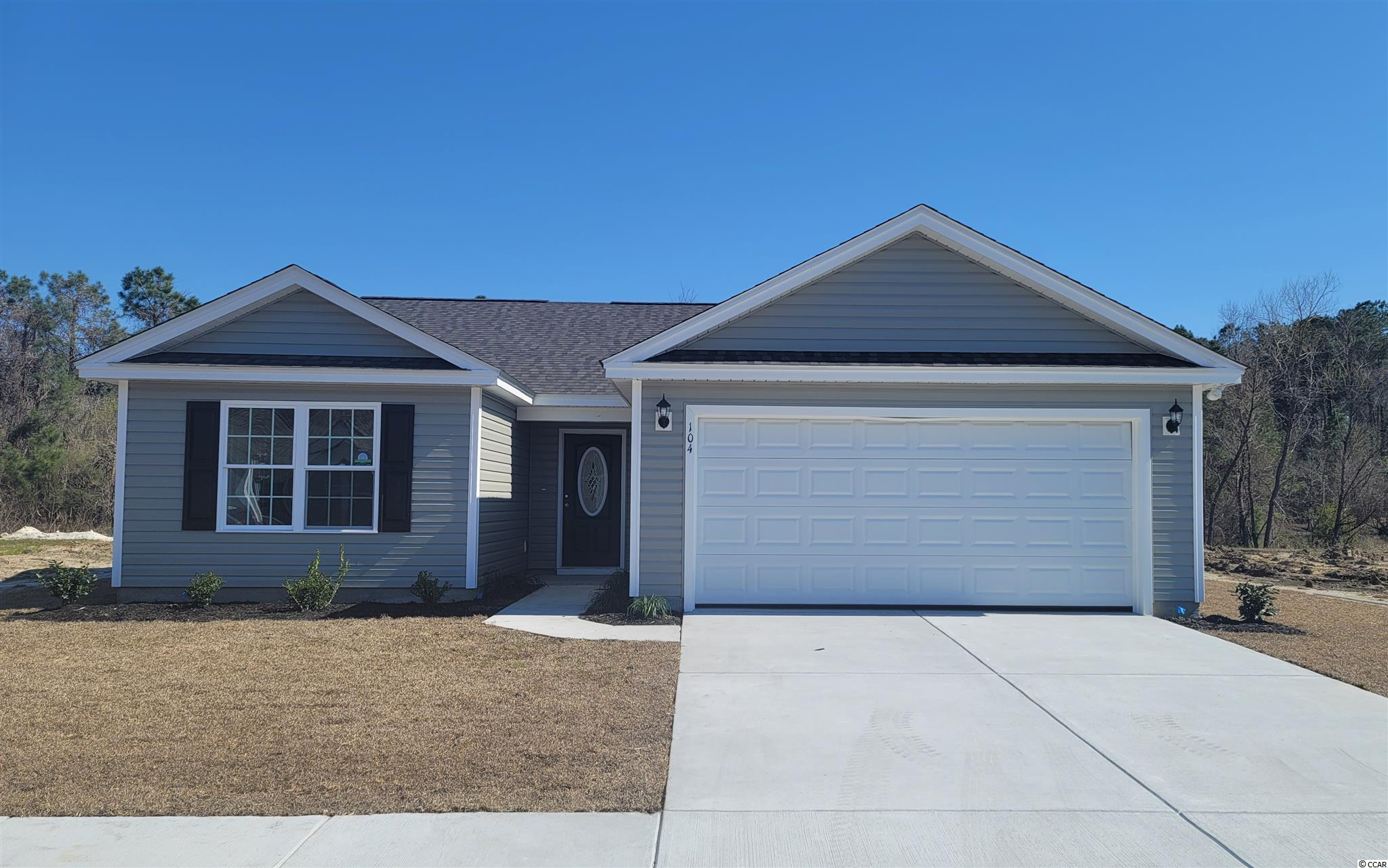 The Dewees Model is a one level home with 3 BR 2 Bath, 1334+/- heated sq. ft.  An open floor plan that features a spacious and comfortable kitchen overlooking the living room. This homes features includes but are not limited to: Low Maintenance Exterior Vinyl Siding. 30 Yr - Architectural shingles , Low E- Vinyl windows Large 2 Car Garage. Open Kitchen with Stainless Steel Appliances, Spacious Bedrooms,  5 ft. walk-in shower in Master Bathroom -  cultured marble vanity top in bathrooms. Pictures are of a similar plan model home and are for illustration purposes only. Beverly homes offers home customization and floor plan changes. Georgetown Estates is a premier community conveniently located along HWY 521,  easily access both  downtown Andrews and the Historic Georgetown, SC.  sidewalks wind throughout the community.  Huge oaks and beautiful mature trees surround this gorgeous new community. Come experience the beautiful and sweet life that the low country of South Carolina and Georgetown Estates has to offer! Beverly Homes is a equal opportunity Builder.