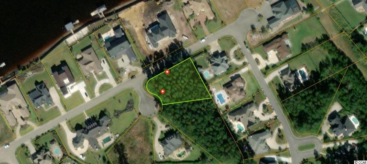 One of the last remaining lots in Plantation Point.  This is a no-HOA neighborhood and only a 2.8 mile drive to the Atlantic Ocean and less to Broadway at the beach!  Bring your builder and turn this great lot into your dream home!  At nearly two-thirds of an acres, you have plenty of room for your dream home, RV parking, and a private pool!  The lot is situated in a position that should allow for views of the waterway from your balcony!