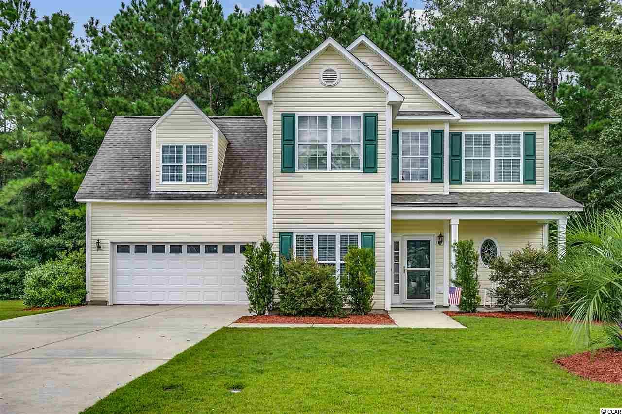 Welcome to Shaftesbury Green, a golf course community just outside of Conway and close to Highway 22 that leads you to the beach in just 15 miles. This beautiful 4 bedroom/2.5 bath home sits on a great lot with privacy in back and one side to enjoy the patio. Tile floors throughout the first floor level that includes formal dining room, kitchen, half bath and living room. Upstairs you will find all 4 bedrooms one of which is the huge bonus room as well as the laundry room.  Master bedroom has two closets and a large bathroom with double vanities, garden tub and shower. Open floor plan allows for great entertaining space and fits nicely for a growing family. Golf course membership transfers to Shaftesbury Glen Golf and Fish Club. Pool membership can be purchased separately.