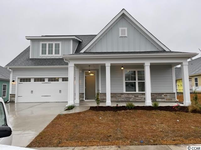 Our Sapphire Model has so much to offer ~ 3 Br/2.5ba plus Bonus or 4th Bedroom, 2-story home with 2 car garage. The first floor boasts a huge living room, powder room, kitchen with free standing gas convection range, over-the-range sensor microwave, energy star dishwasher, granite countertops, garbage disposal, pantry & large dining area. Fantastic Master Suite with a large walk in closet & bathroom with walk-in shower and his & her sinks as well as a screened porch top off the first floor.  Second floor has 2 large bedrooms and a full bath. Energy savings features include Low E windows, 14 Sear HVAC, Digital WiFi Programmable Thermostats, Tankless Gas Hot Water Heater & 200 Amp electrical service, security system with keyless entry.  Too much to mention so come see for yourself! From the time you step onto the quaint from porch & open the front door you'll see the quality of construction. 9' flat ceilings, wide plank restoration flooring, luxurious carpet in bedrooms, vaulted/tray ceilings & a wonderful open floor plan.  Additionally, Robber's Roost at North Myrtle Beach is a natural gas community east of Hwy 17 with a community pool coming for the 2020 swimming season & is located within walking, bicycle or golf cart distance to Tilghman Beach, the beautiful Atlantic Ocean w/ 60 miles of white sandy beaches and is close to Coastal North Town Center (shopping, dining, beauty, pets), Shag dance capital Main St., golf, boating/fishing in the ICW, entertainment and all the amenities of living in Coastal South Carolina. Whether a primary residence or your vacation get-a-way, Don't Miss ~ come live the dream!  (*Many new lots/plans to choose from!)