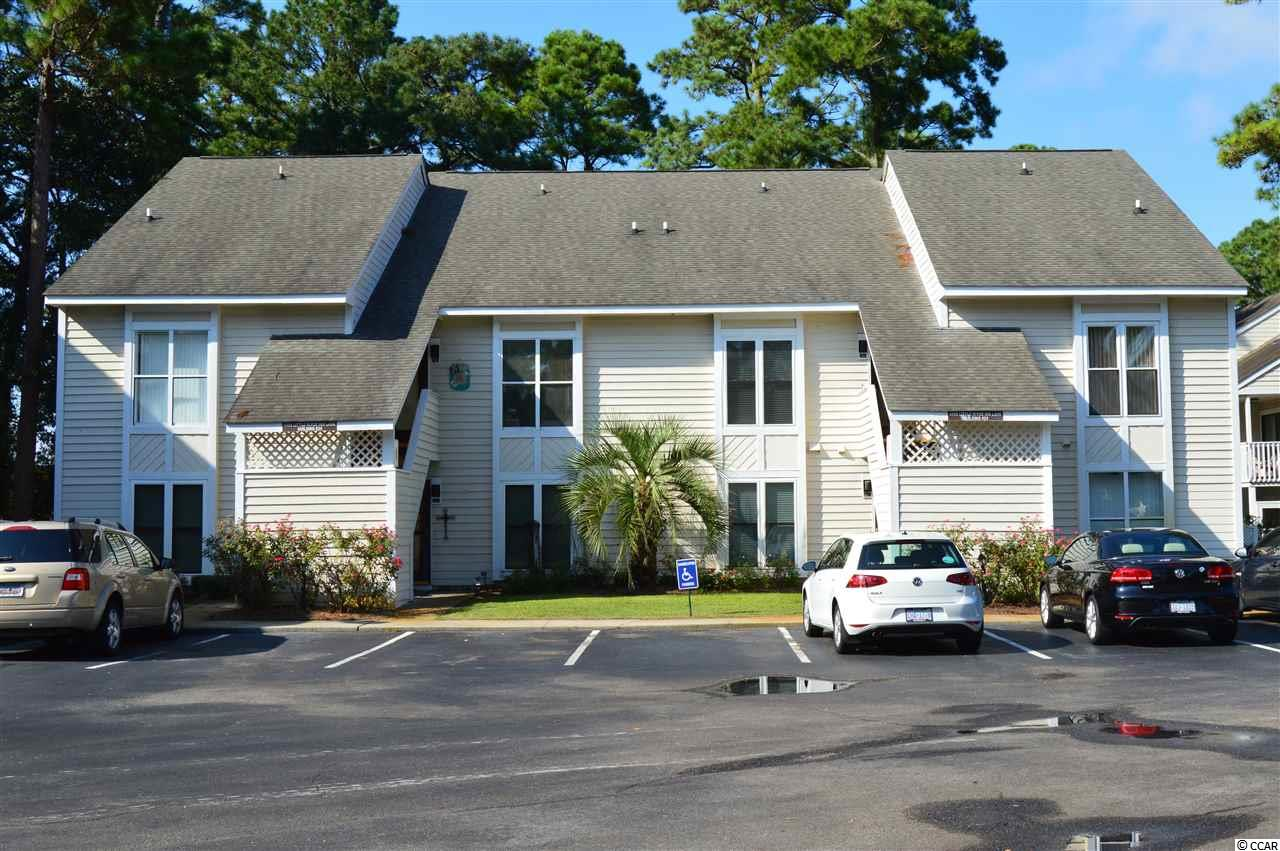 The best deal in Little River Golf & Health! This 2-bedroom 2-bath townhouse is nestled back in this development with a beautiful backdrop of trees and open spaces. The great room with its soaring cathedral ceiling allows natural light to flow freely into this space. The master bedroom, located in the loft, has double closets, a private master bathroom with double sinks, and a private computer nook or place to read a good book. The second bedroom is on the main floor with an adjacent full bathroom.  For a very reasonable HOA fee, you can enjoy pools, tennis courts, BBQ and picnic area.  As a bonus, Cherry Grove beaches are only a few minutes away.  Don't miss this one! Square footage is approximate and not guaranteed. Buyers responsible for verification.