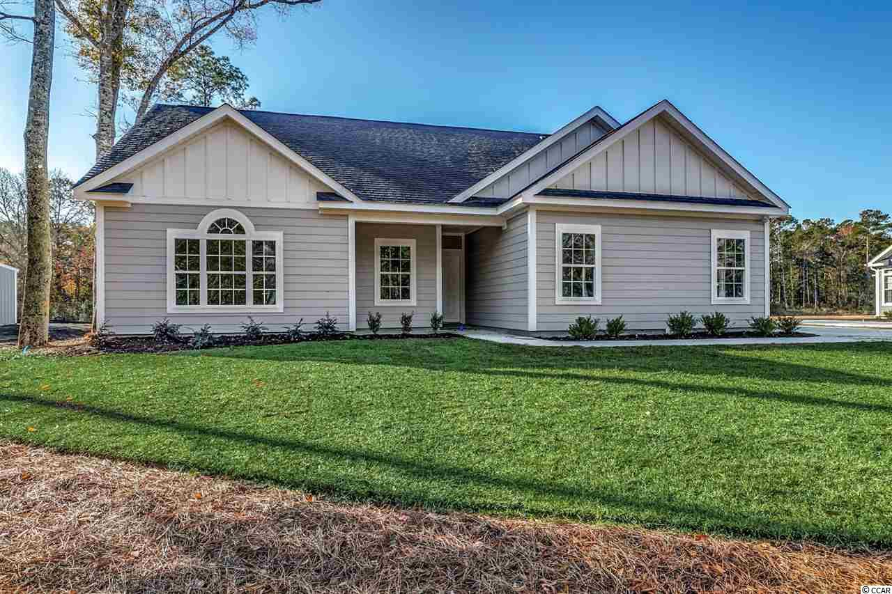 "ENJOY BREATHTAKING VIEWS OF THE ""ALMOST"" 2-ACRE LAKE FROM THIS NEW CONSTRUCTION HOME! Amazing opportunity to own on Wachesaw Rd in Murrells Inlet SC! This well-appointed home has high end luxury vinyl flooring in main living areas, plush carpet in bedrooms, tile flooring and tile shower in Master Suite Bathroom. All counter tops are finished with white granite. The state-of-the art kitchen has beautiful, 36"" white shaker cabinets with designer knobs, stainless appliances and gas range. A tankless water heater, large side load garage, ample parking and BIG windows for great views of the lake make this home a must see for anyone ready to embrace the beauty of a pristine home in a convenient location! NO HOA!!. S.C. Realtors /Owners"