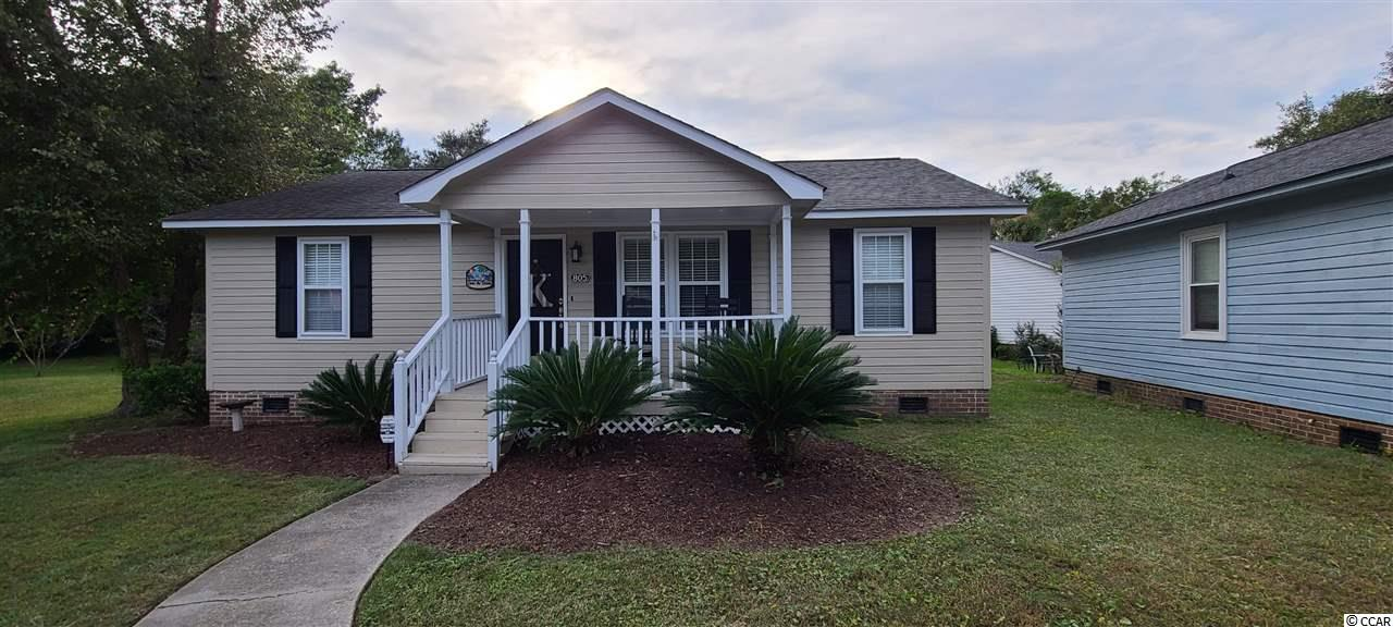 Here is the home for you, located in the wonderful neighborhood of Salters Cove. This immaculate home has 3 bedrooms and 2 baths. The current owners use the 3rd bedroom as an extra living area. This home has been well kept and never rented, it is a second home for the family. This home is so inviting and just waiting for you to make it your own. It is being sold fully furnished(owners personal items not included). The home is open and ready for you to enjoy with your friends and family.  The home has a new HVAC and new hot water heater for ease of mind and the interior has been freshly painted. The neighborhood has everything for you to enjoy, community pool, great out door space or recreation house for family gatherings and the best part, just a short golf cart ride to the beach. Don't miss out, availability is rare within Salters Cove, so make this beautiful house your home. Buyer to verify square footage.
