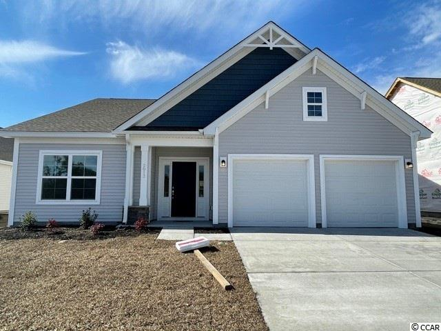 Come see why this is one our most popular Premier floor plans in the community.  From the beautiful arched foyer entry to the large outdoor living space this split/open floor plan is a favorite.  You will find bench & cubbies for your convenience next to the garage entry for removing your shoes.  The ceiling soars to 12' in the family/kitchen area.  You will also find white cabinets, quartz counter tops, gas range, under cabinet lights, pantry and a spacious eat-in kitchen area.  The family room in complete with a fireplace & ceiling fan.  The primary suite includes a door to the outdoor living space, tiled 5' shower, enclosed water closet, linen closet, generous walk-in closet, framed mirror and double bowl vanity with drawer stack.  Just out side the primary suite is the laundry room complete with built-in shelves.  Cypress Village has a beautiful clubhouse with fitness room, pool, pickle ball, bocce ball, horseshoe pits, putting green, fire pit and fishing.  ponds.  Low HOA fees and low maintenance living.