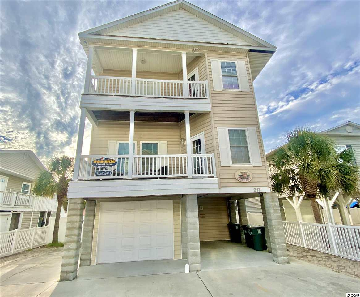 Room for the whole family in this huge 6 bedroom, 5 1/2 bathroom home! 217 28th ave N is a rental machine and an investors dream! Can easily sleep up to 20 guest!! This home is conveniently located in Cherry Grove, just half a block to the beach and a short walk to restaurants, entertainment and grocery stores. You will love the large open floor plan! The vibrant and cheery colors make every room have a tropical beach paradise feel! It's the perfect layout for a large family gathering, two small families, church or sports teams, and much more. Relax and feel the ocean breeze as you enjoy your morning coffee from your ocean view balcony! In the private backyard you will find one of the largest private pools in Cherry Grove, with a large lounge area perfect for outdoor bbq's, corn hole tournaments and sunbathing by the pool! With the abundance of opportunity this home comes with, 217 28th Ave N would make an excellent rental investment or a perfect beach get-away!