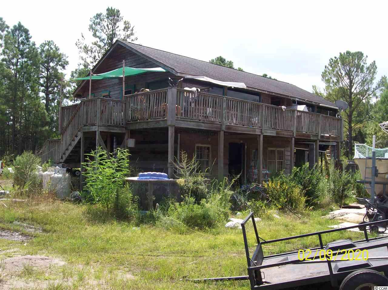 NEAT, LITTLE 2-STY. 2BR HOUSE WITH EXCELLENT LAKE VIEW, VERY PRIVATE SECLUDED AREA, 9.7 ACRE TRACT, GREAT PRICE!!!!!