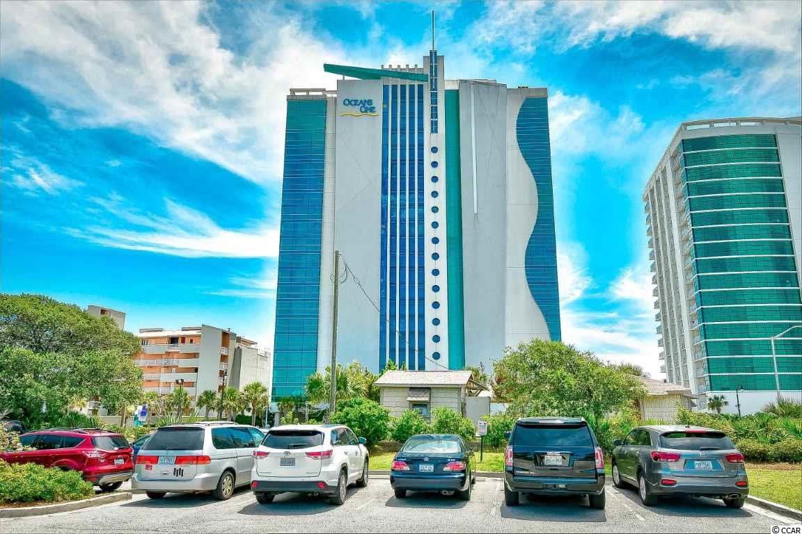 Don't miss your opportunity to own this fully furnished, 1 bedroom, 1 bathroom unit at the highly sought after, Oceans One South Tower. This unit includes a full kitchen, equipped with all stainless steel appliances, a living and dining area that seats 4, and upgraded furnishings and TVs throughout. The bedroom offers two queen size beds, while the living room also includes a murphy bed, allowing the unit to sleep up to 6. Washer/dryer included with sale for added convenience. Enjoy the miles and miles of oceanfront views from your 4th floor balcony, and relax at all of the great resort amenities. Oceans One includes indoor and outdoor pools, lazy river, kiddie pools, hot tubs, onsite exercise facilities, and more. Perfectly situated in the heart of Myrtle Beach, close to all of the Grand Strand's finest dining, shopping, golf, and entertainment attractions. Whether you are looking for a vacation getaway or your next investment opportunity, you won't want to miss this. Schedule your showing today!