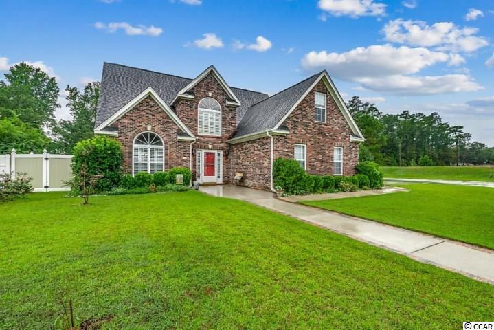 Amazing opportunity to purchase this 4 bedroom 2.5 bath all brick single family home located on a corner lot in Magnolia Bay ! 2001 Sawyer Street includes an upgraded private fenced-in backyard that features a Gunite & salt water in-ground pool w/ massage jets to entertain all your guests ! Open floor plan with a wood burning fireplace in the living room, half bath, custom blinds, and built in stereo system w/ surround sound on main level. The master bedroom is located on first floor level and has a huge walk-in closet. Master bath features a double sink vanity and huge tiled walk-in shower. Upstairs features upgraded laminate flooring, three bedrooms, and a spacious full bath. Kitchen features include breakfast bar, stainless steel appliances w/ newer range,upgraded backsplash, Breakfast nook, & adjacent formal dining room. Plantation Shutters located in the foyer and dining room as well. Additionally, there is a Carolina room just off the living area. This home is perfect for entertaining guests both inside and outside. The backyard features landscaping materials that feel like a Tuscan courtyard and the house also includes a two-car side load garage. 3150+/- Total square feet. Two Trane HVAC's have been installed within the past few years and each have their own nest thermostats. Convenient location less than 2 miles to Historic downtown Conway for all the shopping, dining, and riverfront activities for you to enjoy ! Call today for a showing !