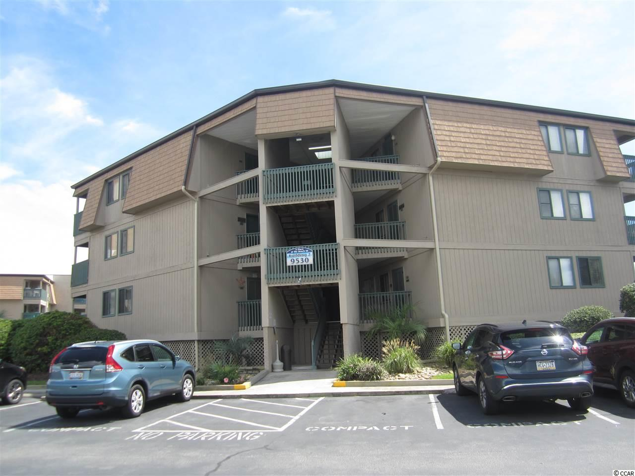 Own a DIRECT OCEAN FRONT condo in the Shore Drive section of Myrtle Beach. Spacious 2 bedroom, 2 bath well maintained condo in the popular APATB III-II building.  The Seller installed central HVAC in 2018, replaced all flooring with vinyl planks and updated some furnishings. Great ocean views from the Master bedroom and living room.   A Place at the Beach properties have great rental potential or use it as your own Beach getaway.  9530 is across the street from a serene Marsh and has a wonderful outdoor pool and grilling area.  Close to the popular Ocean Annie's oceanfront bar and everything Myrtle Beach has to offer.