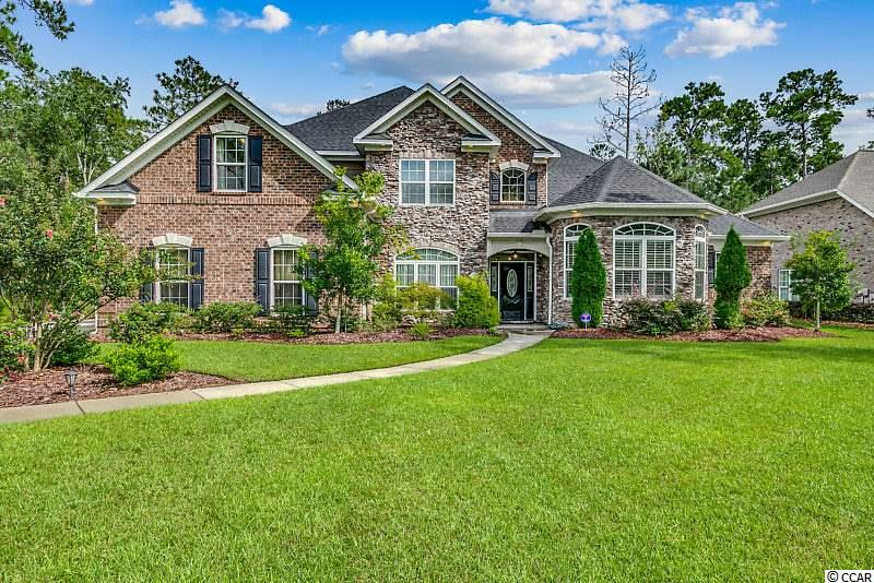 Captivating home on .83 acres in the Intracoastal Waterway, gated community of Cypress River Plantation. This 5 bedroom, 3.5 bath home speaks elegance from the moment you walk in the front door. Bordering the foyer is the formal dining room and an amazing study which also doubles as an elegant billiard room. Proceed into the large open living area featuring a beautiful stone fireplace with lighted accent arched walls bordering each side. The natural light and high ceilings make this room a real show stopper. This chefs dream kitchen offers four ovens (all stainless appliances), stunning granite counters, island area, a huge butler's pantry,  an eat-in dining area, a breakfast bar and it all overlooks the living area. For the more cozy family times, there is an additional living area with a fireplace, built-in cabinets and lighted tray ceilings. The master suite and master bath should fit all your wants and needs. The large master bedroom is very elegant with a triple tray, lighted ceiling and a sitting area. The master bath is fit for a king including a double vanity, walk-in shower and a spacious walk-in closet. Upstairs you will find a relaxing loft area, four additional bedrooms with walk-in closets & two full baths (one bedroom could also be used as a bonus room). This home features an over-sized, side-load 3-car garage. The backyard was designed to entertain and wow! The living room opens up to an outdoor living space that is like no other, a true oasis. Enjoy your large screened porch with stained wood ceilings, multiple sitting and dining areas. There is a large patio area with a bar that leads out to the in-ground private pool. This pool is surrounded by large stone walls with waterfalls all surrounded by large stone pavers. The backyard is fenced and offers additional  privacy with mature landscaping. Cypress River Plantation features sidewalks and street lights throughout, owner's clubhouse, fitness center, basketball and tennis courts, large pool, boat & RV storage, day docks and a landing on the Intracoastal Waterway. Additionally, Cypress River Plantation is located within the award-winning St. James School District. All information is deemed reliable but not guaranteed. Buyer is responsible for verification.