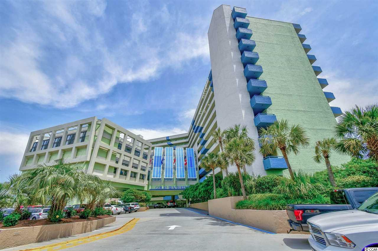 """Welcome home to your perfect next get-a-way """"Oasis"""" located in Coral Beach. One of Myrtle Beach's premier oceanfront buildings. You are located in the most desirable section of town. Just minutes from shopping, Ocean  Boulevard, The Boardwalk, restaurants and all of the entertainment provided by Broadway at The Beach and more! This unit is on the 6th floor so you are not too low to be distracted by noise and you are provided a perfect view for the ultimate morning of relaxation. This unit is in fantastic shape being cleaned continually and upgraded. Everything from the appliances, cabinetry, flooring and paint are not left without attention. This unit also performs well financially so you can cover expenses and and get the enjoyment out of Myrtle Beach that you always wanted."""