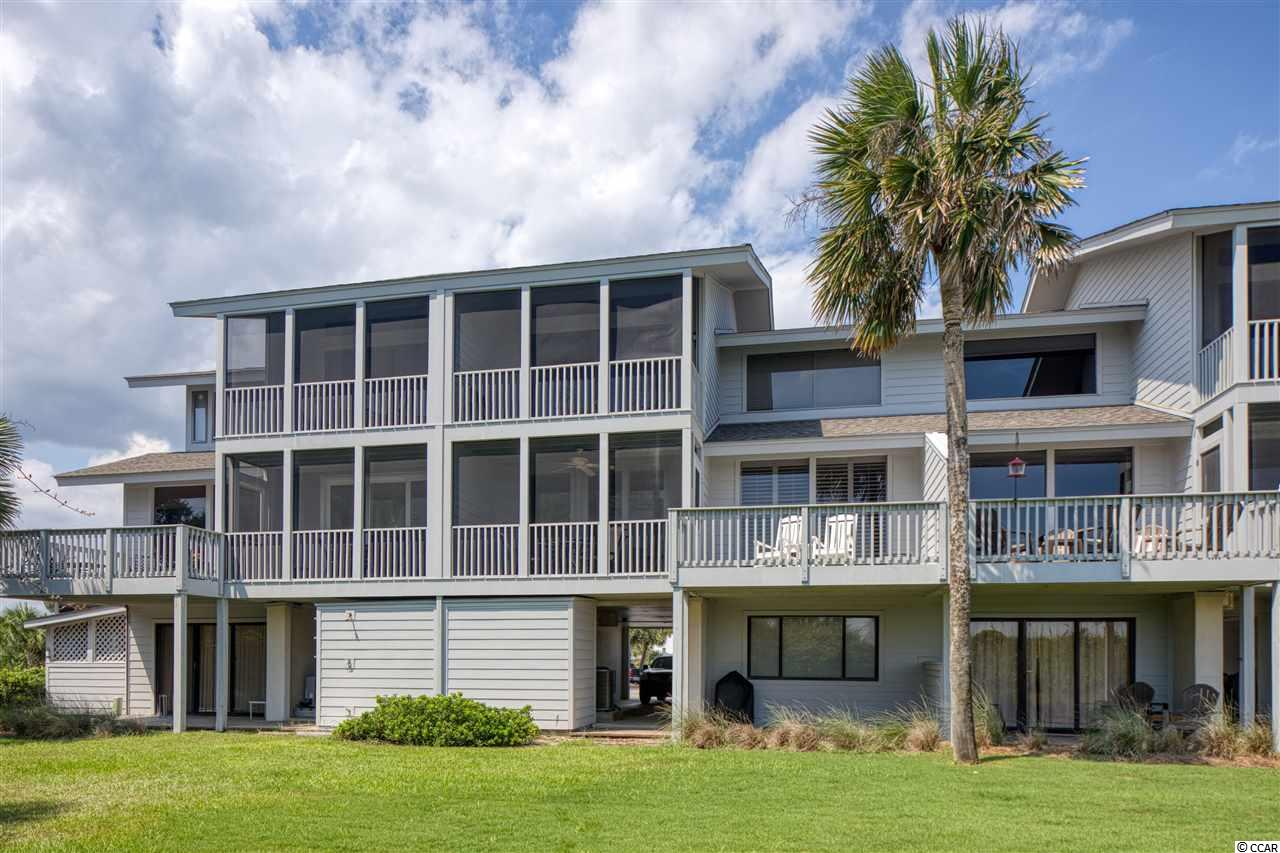 Great opportunity to own an one of the most desirable oceanfront villas on all of Litchfield Beach.   Welcome to 4C Inlet Point, a 4 bedroom 4 bathroom oceanfront villa located in the private gated community called Inlet Point  at the South end of Litchfield Beach.  This well appointed villa offers a very spacious floorplan,  taking advantage of wonderful oceanfront views while maintaining private living spaces.   Plenty of room for entertaining family and friends in the open living room and dining room that flows out onto the screened porch and sun deck.  The spacious kitchen features updated stainless appliances and plenty of cabinet and pantry space.  The owner's suite has a separate loft area with a daybed and  enjoys a private screened porch perfect for enjoying a morning coffee watching the sunrise over the Atlantic Ocean.  Each of the four bedrooms have private bathrooms with privacy for all.  Relax with a good book in a rocking chair on the porch while the sea breeze and sounds of the lapping waves lull you to sleep.  Don't miss this opportunity for your family's legacy at the beach!  Just steps away from the ocean and Inlet Point owners and guests enjoy two pools, a playground area, and fishing dock on Litchfield creek.  Close to boutique shopping and fine dining.  Litchfield Beach is located just a 70 mile drive to historic Charleston, SC or 25 miles to the attractions of Myrtle Beach.