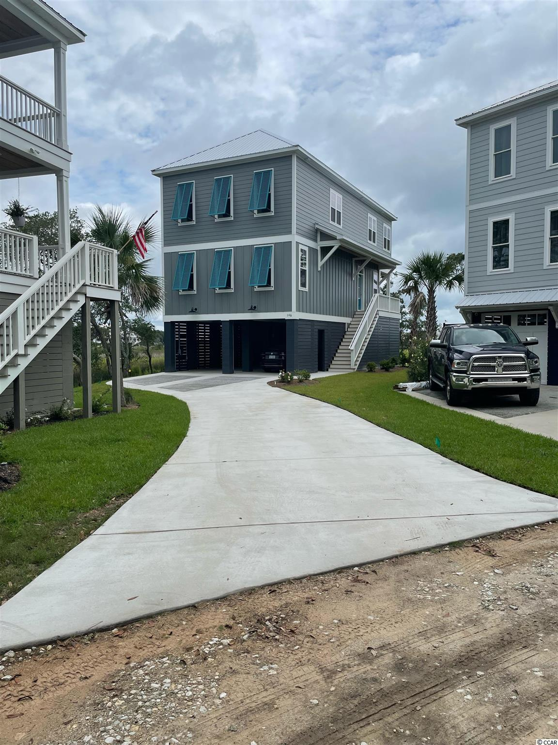 Beautiful direct marsh-front home in the permitting phase on lot 9 at Marshland Park.  THE PICTURES ARE OF ANOTHER HOME ALREADY SOLD IN THE COMMUNITY.  FOR REPRESENTATIONAL PURPOSES ONLY. Hurry to pick your finishes.  This one comes standard with all the niceties you expect.  Call today!!!