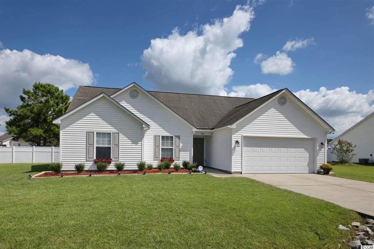 Beautifully maintained home, both inside and out!  This 3 BR/2 BA gem boasts an open, split floor plan; laminate floors and newer ceiling fan in living area; spacious Master bedroom with sitting area, and huge walk-in closet; Master bath with double sinks, garden tub, and walk-in shower; kitchen with glass-tile back splash; separate laundry room with washer and dryer; new toilets in both baths; security system; two car garage; expansive fenced in back yard; beautiful landscaping in both front and back with new edging and filters to prevent weeds; hose bibs on both sides of the house with non-kink hoses; and new (July 2020) Trane 15 seer, 3 ton HVAC system with WiFi thermostat.  Also, NO HOA!  AWD lawn mower, weed eater, and blower will remain.  Living room, dining room, and Master bedroom furniture negotiable. Outdoor grill and stainless refrigerator/freezer in garage also negotiable.  Room for a pool in the back yard or boat parking!  Priced to sell!  Measurements are approximate and not guaranteed.  Buyer is responsible for verification.