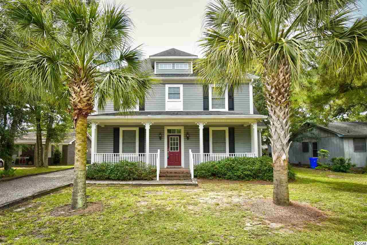 """This is it! Fully furnished, with hidden side 2-car garage, barely used as a second home only, detailed work, master bedroom on first floor, built 2006, home in highly sought after area in Surfside Beach. Kitchen features tall 32"""" cabinets, living room with soaring ceilings up to the second floor, a laundry shoot from second to floor to the laundry room, second living area/loft on second floor, and much much more. Located east of Hwy 17 with only Ocean Blvd as the main road to cross to get to the beach. Don't miss your chance to see this beauty."""
