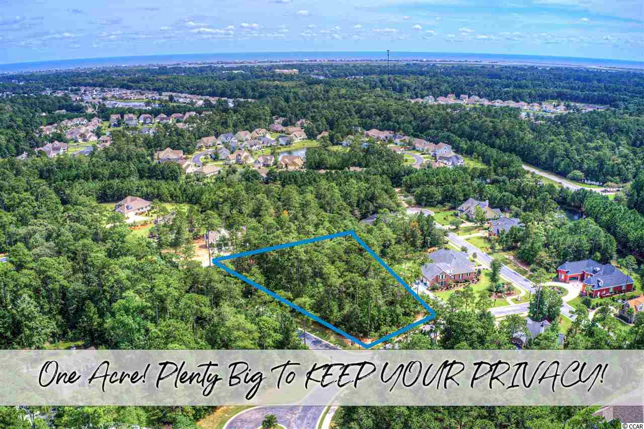 Nice residential building lots have become hard to find! Finding a lot this size is near impossible! 155 Camp Hill Circle is 1.11 Acres and can accommodate most any custom home floor plan. Due to the size of this lot you'll have no issue keeping your trees and most importantly, your privacy! 155 Camp Hill Circle sits high, dry, and level. You'll be thrilled to know this lot is located in an X-Flood Plain and your lender (If Financing) won't require flood insurance. Located within the prestigious gates of Highwood - Prince Creek; you'll just love the peaceful way of life! Not only is Highwood conveniently located smack in the middle of Murrells Inlet, it's also one of the only neighborhoods in the area to rest along side the only TPC golf course in the state of South Carolina! It's a such wonderful area with many wonderful Murrells Inlet attributes. *Per the owners original research, the house could face either Cane Break or Camp Hill.*