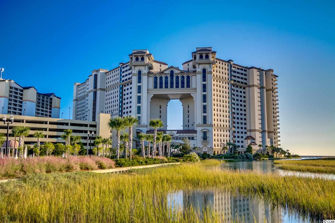 A rare opportunity and investment opportunity in one of the Grand Strand's premiere ocean front resorts.  Rarely does a 3 bedroom lockout unit come on the market in North Beach Plantation.  Located in the sought after Indigo building, this 2 story townhouse plan offers one bedroom; one bath; washer/dryer; full kitchen; dining/living and balcony on the 16th floor and upstairs you will find two bedrooms; two baths; kitchenette; washer/dryer; and balcony.  This unit can be rented as a three bedroom, a one bedroom or two bedroom unit.  The 17th floor master is currently set up as a living area.  Rental income on this lockout unit far exceeds the rental on a standard 3 bedroom unit.  There are only 6 of these type units in the ocean front towers.