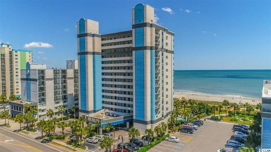 This beautifully furnished condo has been completely renovated for your needs and comfort. Being on the 5th floor you are able to enjoy breathtaking views of the ocean along with looking up and down the coastlines. This condo features a queen bed, a daybed & trundle in the bedroom. In the living room you have a full size murphy bed and the couch extends for additional sleeping. Located at 23rd Ave N you are close to restaurants, bars and cafes!  You are 3 blocks away from Starbucks, Dunkin Donuts, and several restaurants. This resort features several pools, lazy rivers and hot tubs. During the cooler season, the under the building portion is closed off and is fully heated for you to continue to enjoy the amenities.   This is a great income- generating investment, second home, or even a primary residence!