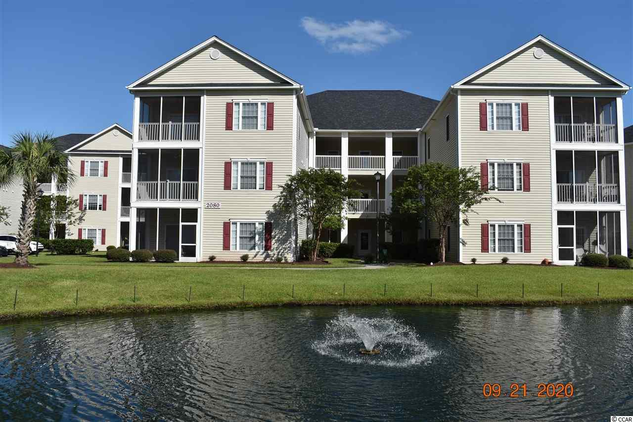 Come view this 3 bed 2 bath unit in Deerfield - Maddington Place.  This end unit has a large open floor plan with plenty of natural light. There is a view of the pool from the balcony.  The master bedroom has a large master bath with a walk-in closet.  There is a bar area across from the kitchen.  There are 2 large  spare bedrooms, which could also be used as an office.  You can enjoy the Marshwalk, Huntington Beach State Park, Market Common and Brookgreen Gardens.  This great location is a short distance to the beach, shopping, golf and restaurants.