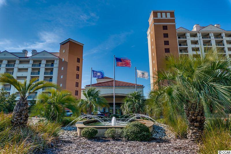 Luxury 2BR/2BA condo at The Marina Inn at Grande Dunes. This spacious condo has a rare floor plan featuring 3 full-sized balconies which offer views of the marina, waterway, Grande Dunes bridge and golf course. This is also in Building 5, the only section of The Marina Inn with enclosed climate controlled corridors. These rarely come up for sale. Located in the prestigious 2000 acre Grande Dunes master-planned community, The Marina Inn is a AAA Four Diamond rated resort, one of only a handful on the entire Grand Strand. Interior features include granite counter tops in the kitchen and baths, 9 FT ceilings, upscale designer furnishings, custom cabinets, crown molding, fireplace, ceramic-tiled shower and bath areas, and double sinks in both bathrooms. Shower and tub in master bathroom. Ceiling fans in living room and bedrooms. Full-sized Samsung washer/dryer. Excellent second home or vacation rental property with impressive onsite rental management. Grande Dunes Marina Inn is amazing. Dining is available at Ruth's Chris, Waterscapes Restaurant and The Anchor Café perched over the Intracoastal Waterway. Other highlights include several bars, including a seasonal pool bar, a lushly landscaped outdoor pool overlooking the marina, an indoor pool, a fitness facility, lavishly decorated common areas and lobbies, expansive meeting spaces, and an elegant onsite rental management check-in area if you decide to rent. The lobby is staffed 24-hours a day and there is 24-hour security. Concierge and valet services are available to guests.The 126-slip Marina at Grande Dunes is one of the finest full-service facilities on the east coast. Ownership at The Marina Inn at Grande Dunes includes membership in the Grande Dunes Ocean Club, featuring an exquisite oceanfront clubhouse with impressive architecture,oceanfront dining, multiple pools and private beach access. Although the Ocean Club is only available to Grande Dunes Owners, guests of the Marina Inn rental management have shuttle access to the oceanfront. Other features of Grande Dunes include two award-winning golf courses and the acclaimed Tennis Club with Har-Tru courts, a state-of-the-art fitness center, pool and more. The Marina Inn is tucked away in the peaceful, upscale north end of Myrtle Beach but is close to major attractions such as Broadway at the Beach, the Tanger Outlet Mall, Ripley's Aquarium, Pirates Voyage, Carolina Opry, Barefoot Landing, and Restaurant Row. The HOA fee includes building insurance, HO6 insurance, unit electric, water/sewer, internet, cable, phone, membership to the Ocean Club, and all maintenance/upkeep of the awesome amenities and common areas. All information is deemed correct, but it is the responsibility of the buyers and their agent to verify all information.