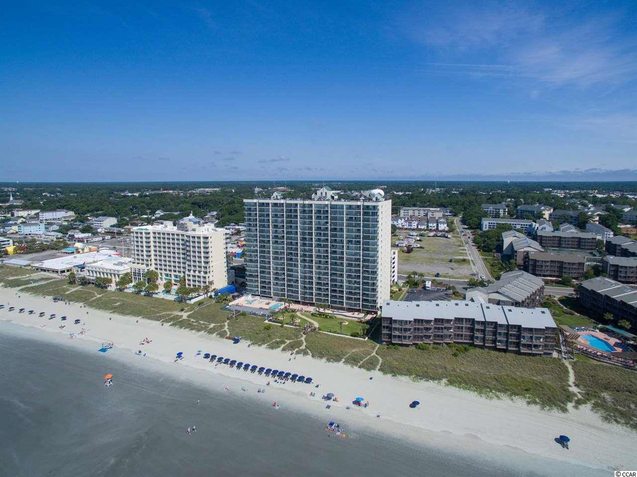 Spacious, oceanfront, 2 bdrm, 2 bath condo in popular Drake building. Spectacular amenities include outdoor pool, heated under-building enclosed pool, lazy river, whirlpool spa, baby pool, exercise room, sundeck, picnic/grill area, on-site 6 level parking garage, & large handicap accessible walkway to beach. Drive to 2nd floor & unload your car without using elevators or stairs & without going thru lobby. An open air staircase can be used to walk to the beach or to walk downtown for those who prefer not to use an elevator or to walk thru a lobby. There is a defined path to beach for Ashworth owners with pets. Telephone service included in association fee. New upgraded digital system will include free long distance. Ashworth is located on 1 of the few blocks zoned for condos between the low density single family zoning of Tilghman Estates & Main Street with its shag clubs, shops, restaurants, pavilion, & rides. Square footage, features, amenities, etc. not guaranteed. Buyer responsible for verification.