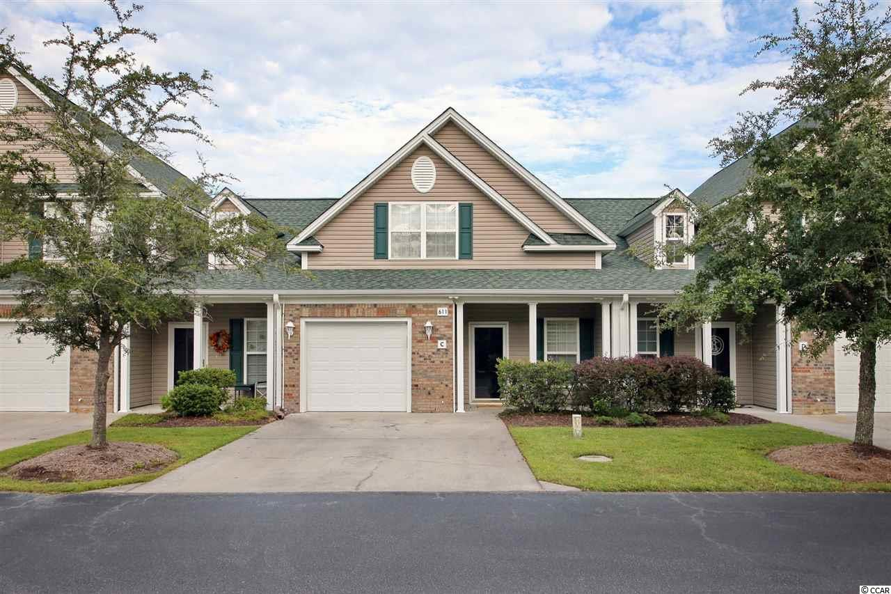 Gorgeous 3 Bedroom, 2.5 Bath Townhouse in the quiet neighborhood of Park West.  Approx 1,500 Heated square feet. Master bedroom is on the first floor with a spacious master bath that includes ceramic tile and upgraded mirrors & lighting. Upstairs includes two bedrooms and one full bath. Includes: Ceramic tile floors, plantation shutters throughout, laminate wood flooring in living/ dining and master bedroom, screened in back porch overlooking the pond, washer and dryer included, all kitchen appliances included, solid oak cabinetry throughout kitchen and bathrooms. Just minutes away from the Marshwalk of Murrells Inlet, Brookgreen Gardens, Huntington Beach State Park, and many restaurants and shopping.   HOA Fees include: Standard cable, all exterior maintenance of townhouse, lawn maintenance, pest control, water/ sewer, exterior homeowner's insurance, pool access, all neighborhood maintenance: entrances and landscaping. HOA is paid quarterly.   All measurements are approximate. Buyer responsible for verification.
