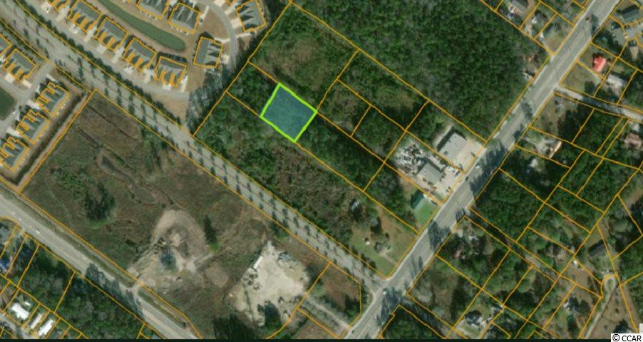 Over half acre wooded lot with NO HOA located just off Hwy 707.  This secluded lot is zoned MSF10, therefore mobile homes are permitted or you can build your dream home.  This property is located near all major road systems and just a short drive to the beach.