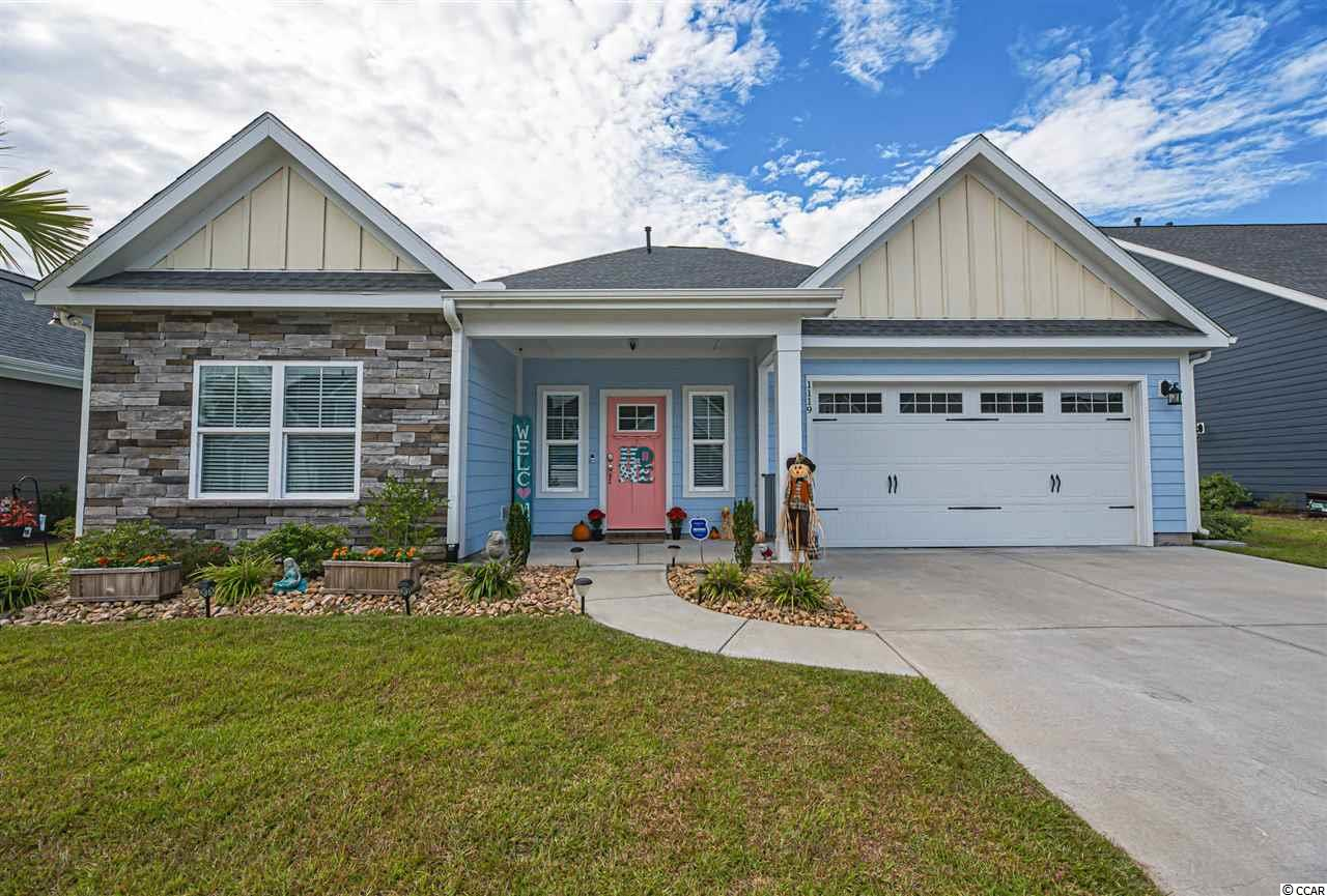 Completely upgraded home in the heart of North Myrtle Beach! This 3 bedroom/ 2.5 bath home PLUS Office, features a 2 1/2 car garage with golf cart storage, speckled paint finish flooring on garage and is Centrally located towards major restaurants, shoppes, golfing, and more! Less than a mile from the beach! Home features every upgrade possible in this pristine community of Robbers Roost! Highly desirable natural gas community, with fireplace, tankless hot water heater, granite countertops in bathrooms and kitchen, gourmet kitchen, vented hood, custom trim workout throughout, laminate vinyl plank flooring, ceiling fans in all rooms, upgraded spacious cabinetry, coffered ceilings in dining room, vaulted ceiling in living room, gas fireplace, spacious backyard with pond view, oversized master bedroom with tile flooring and shower in master bath, spacious walk in closet, tray ceiling in master, additional palm trees and patio pavers in back yard as well as an irrigation system throughout yard, electric motorized attic stairs for easy access to extra storage in attic in garage, and more! This community has a community pool currently under construction, sidewalks, and easy golf cart ride to Home Goods, Walmart, Kroger, Main Street, Restaurants, and more! Seller is Licensed realtor, SELLER IS LICENSED SC REALTOR. CALL AGENT FOR MORE INFO!