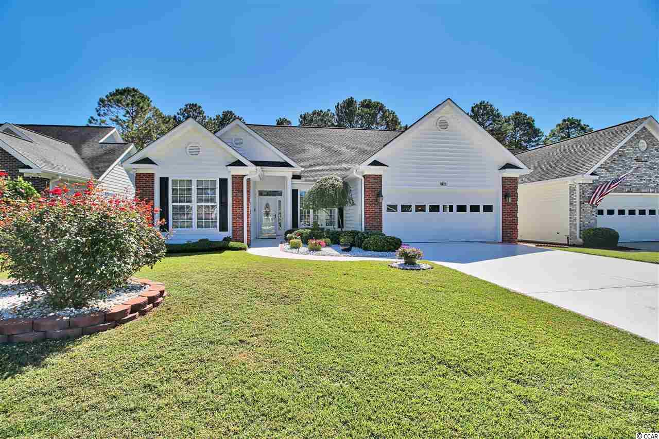 METICULOUSLY MAINTAINED 3 BEDROOMS, 2 BATHROOMS, 2 CAR GARAGE SITS ON A LOVELY GOLF COURSE LOT (BURNING RIDGE GOLF COURSE) IN THE 55 PLUS COMMUNITY OF MYRTLE TRACE SOUTH, VERY DESIRABLE AND ESTABLISHED COMMUNITY WITH SIDEWALKS, COMMUNITY POOL AND CLUBHOUSE!!