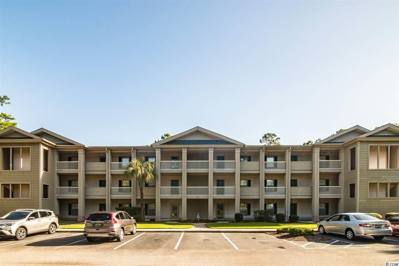 True Blue golf community 2BR/2BA 1st floor condo unit.  Located close to shopping, dining, gold and the beach.  Sold fully furnished with screen porch, washer/dryer, great furniture and move in ready.  Great income generating property for long or short term rentals.