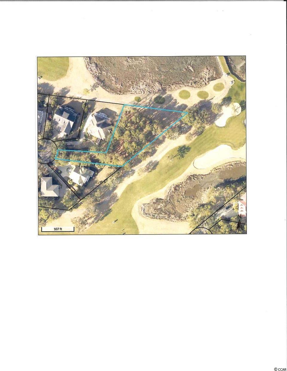 "Here is the perfect spot for your ""dream home"". This large 3/4 acre lot, located on a cul-de-sac that overlooks the 13th and 16th greens as well as the 14th tees of this Jack Nicklaus designed golf course also has panoramic views of the salt marsh and Pawleys Island. You will be able to sit on your porch, watch the golf, the birds in the marsh, or listen to the ocean on the Island. There are unlimited possibilities of what you can build here. The seller has an ARB preliminary pre-approved home plan that can be available to you, or you can bring your own builder and use your plans to build your perfect home. There is no time frame for building, so you can build now or later if that fits your plans. Located in the gated community of Pawleys Plantation, there are restaurants, shopping, and beach nearby as well as the golf at Pawleys Plantation or any of the other 7 courses located in Pawleys Island. Seller has a transferable membership to Pawleys Plantation for interested buyers. This community is located 70 miles north of Charleston and 30 miles south of Myrtle Beach. Come take a look at this view, you will wonder why you waited so long."