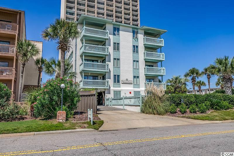 Ocean Views from almost all rooms at this spectacular condo!  Don't miss out on this rare opportunity to own a fully furnished 3 bedroom, 2 full bath condo at the sought after private building at Sand Castles along the Golden Mile in Myrtle Beach. This unit features a spacious floor plan, living room with sliding glass door leading out to balcony with unobstructed ocean views, large fully equipped kitchen with lots of cabinets and spacious bedrooms. New walk in shower in second bath and new LG stackable washer and dryer.  Sand Castles offers an outdoor pool and is perfectly located close to all the Grand Strand has to offer.  This would make a great primary home, second/vacation home or investment property. Don't miss out as this is the only condo on the market at Sand Castles and will not last long!