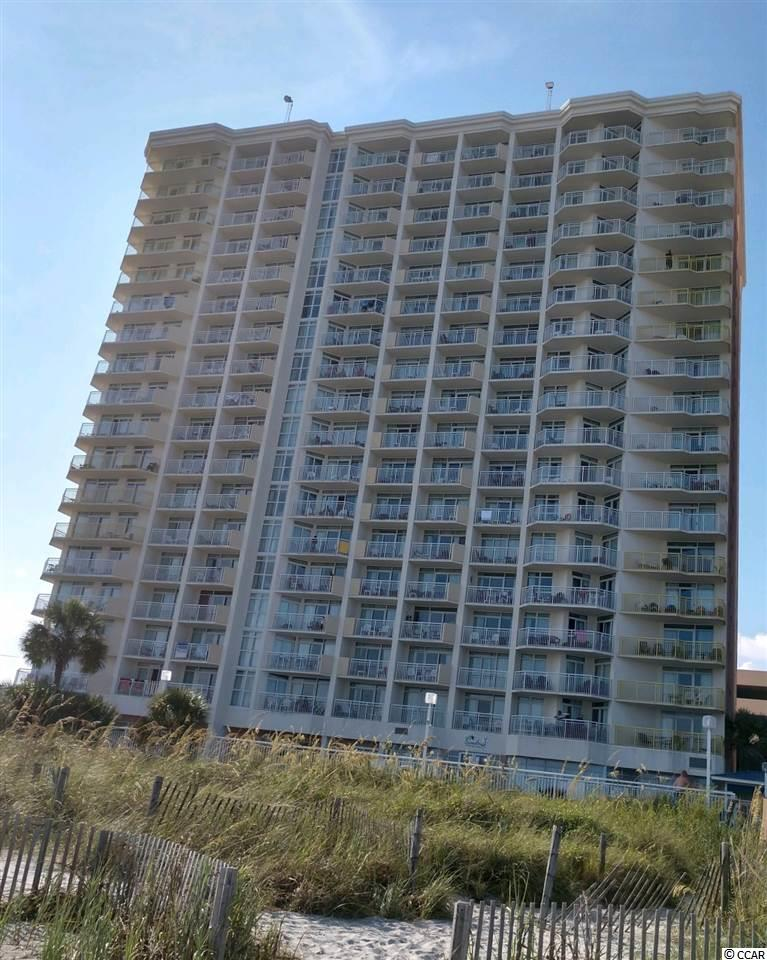 This unit is 18th floor and the view is spectacular every season of the year!  This is one of the few units (3/2) on the market....room for the entire family!  The Resort has a gift shop, parking deck, banquet/convention facilities to accommodate....restaurants, sports bar, indoor/outdoor pools, lazy river, jacuzzis, fitness area, tiki bar, activities for the children...most of all easy access to the beach.  Shopping and entertainment is close!