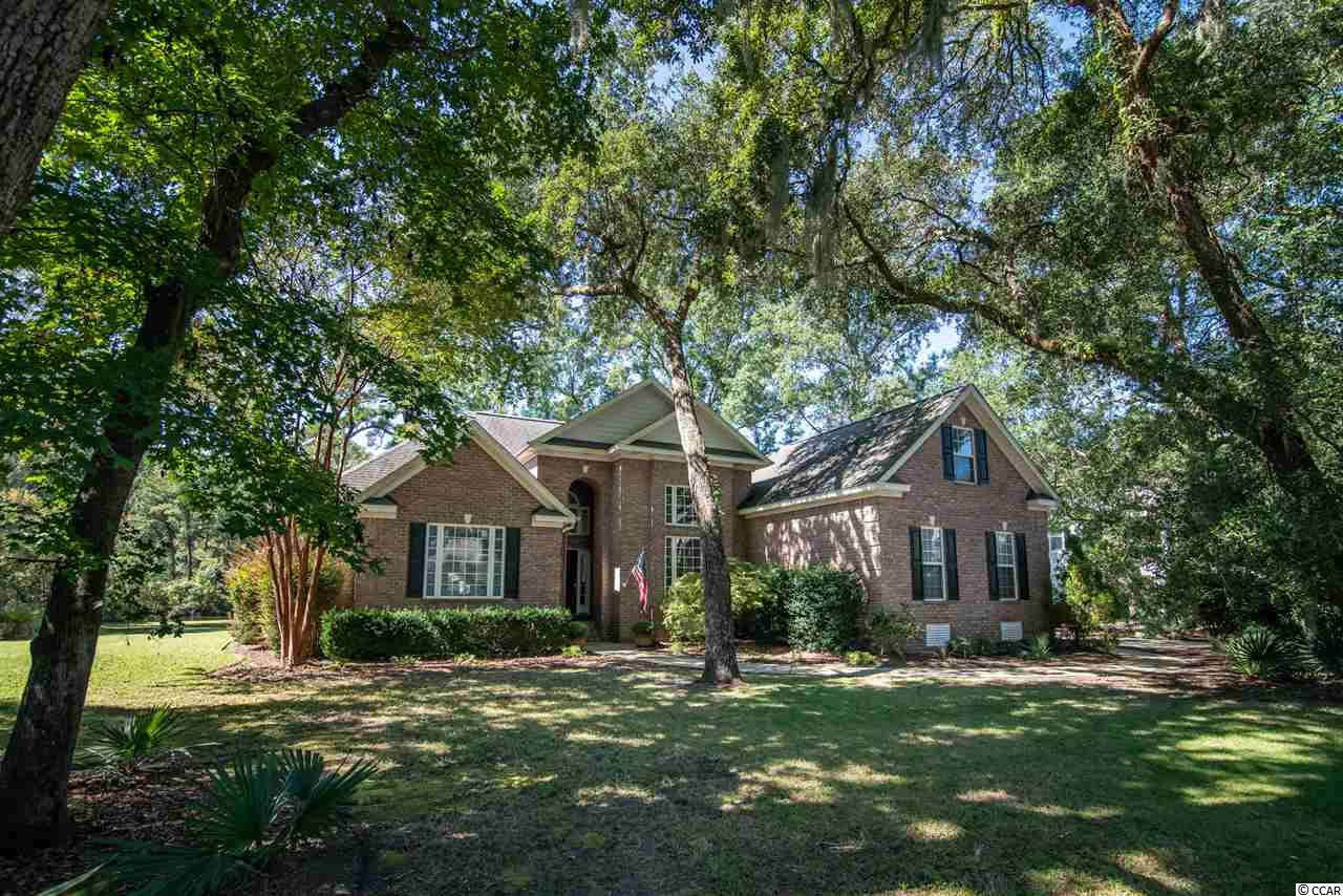 Wonderful brick 4BR/3.5BA home located on quiet street in DeBordieu.  This home is a must see.  Fresh paint in gourmet chef's kitchen, dining room and living room with open floor plan. First floor master features oversized bathroom with shower and tub.  Two additional bedrooms downstairs with the fourth bedroom over the garage that features a full bathroom and large closet. Massive pantry and large laundry room with lots of additional storage space.  Two car attached side load garage.  Home has great screen porch and patio overlooking pond with plenty of room for a pool.  DeBordieu features private gated access, 24 hour security, amazing beach, as well award winning golf and dining.  This house is a great full or part time residence. Fresh paint and updated photos coming soon.