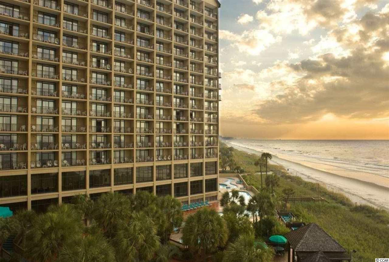 Beach Cove an awesome Resort. Ocean Front condos; 3 towers, location of this condo Tower A on 10th floor.  Kitchen area includes full size refrigerator, microwave, and cooktop with granite countertops. Furnished and ready to purchase as investment, 2nd home, or owner occupied. Attached Parking garage.  Lots of amenities with this condo a resort with exercise room, many outdoor pools plus indoor, restaurant and game room for all ages!  Bedroom allows view of ocean.  Two queen beds. Living room has sleeper sofa for guest.  Call to view!!
