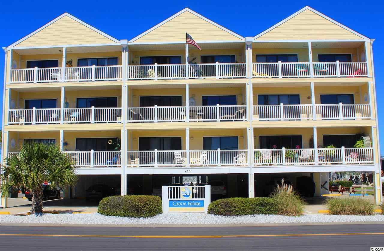 """You Won't Want To Miss Out On This Condo. 2 Bedrooms & 2 Full Baths, Fully Furnished That Includes An Electric Fireplace In The Living Room That Leads To A 10' X 15' Balcony With Fabulous Ocean Views. There is a 2nd Balcony Directly Off The Master Bedroom That Overlooks The In Ground Saltwater Pool. A Few Additional Features To Note: Ceramic Tiled Master Bath, Raised Vanities In Both Bathrooms, New Hot Water Heater, 2 Large Storage Closets, 1 Attached Off Balcony and 1 At Ground Level For All Of Your """"Beach Items"""", Fishing Equipment, Bicycles and What Ever Else You Want. This Concrete & Steel Construction And Sprinklered. The Building Has """"Hardi-Plank"""" Siding & Metal Roof! There Is Also A Grill & Picnic Area Near The Pool. WOW!!! Close To Everything That You Could Want And Directly Across The Street From The Beach In Highly Desired Cherry Grove!"""