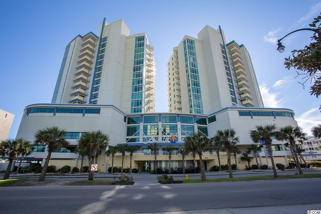 Great 1 bedroom 1 full bath oceanfront unit on the 9th floor of the vaery popular Avista Ocean Resort.  Unit includes a kitchen with a full compliment of appliances and a washer/dryer for added convenience.  The living area boosts a full size Murphy Bed for added sleeping space.  Enjoy the wonderful views of the Atlantic Ocean and pool complex from your private balcony.  There are great amenities including 3 outdoor pools with a lazy river, 2 indoor pools with a lazy river, 3 hot tubs, exercise room, The Tree Top Lounge on the 4th floor, and much more.  Conveniently located to dining, shopping, golf, entertainment, and all area attractions.