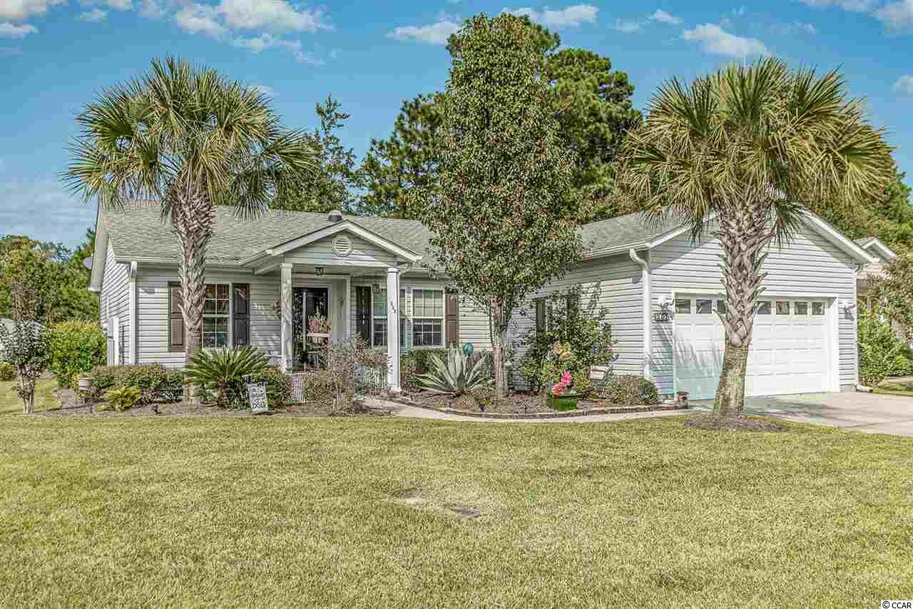 This beautiful 3 bedroom 2 bath Palm Harbor home is located in Lakeside Crossing, one of the area's premier 55+ Communities! Just a short stroll to the clubhouse and pool. Well maintained and ready for you to call home. The kitchen offers lots of rosewood colored cabinets, which includes some glass front cabinets,and counter space and breakfast bar. Large master suite with a walk-in closet, double sinks and walk-in shower.  The 2nd bedroom offers a nice walk-in closet & a Murphy bed & the 3rd has a reach-in closet. Updates include a 12x15 heated & cooled Sunroom and a newly installed hot water tank, heating system & water filtration system.  Lease fee includes lease for the land, lawn maintenance, trash pickup & an amazing recreation facility! On top of this fantastic home, come enjoy the Lakeside Crossing lifestyle and  Multi-Million dollar Rec Center w/ full time Activities Director, indoor & outdoor pools, tennis, great fitness center w/personal trainer, aerobics, billiard tables, shuffleboard, horseshoes, paddle boats, fire pit, ballroom dancing, library, computer room, Bingo, Bunco, happy hours and so much more!  Location is just minutes from the medical center and an easy drive to all the shopping, dining and entertainment of the Grand Strand!  Schedule your showing today!