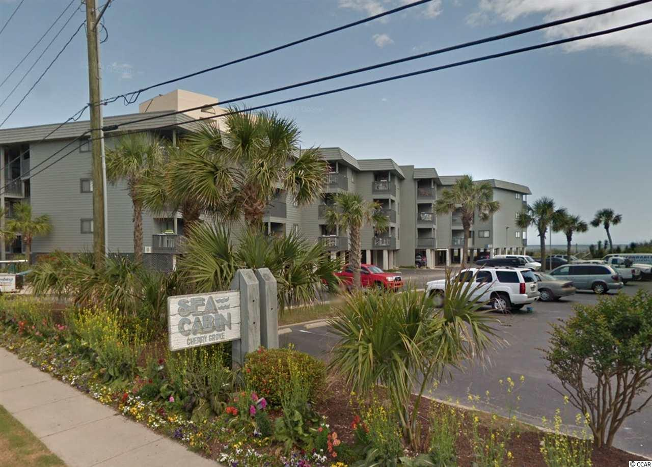 Beautiful Ocean Front / view in N. Myrtle beach UNIT 330 - Cherry Grove Section. 2 nice size bedrooms. Master has private full bath,living room, dining area and large kitchen is very open. Comes completely furnished to include dishes, pots, linens ETC. HOA includes water, sewer, trash, insurance on building, cable/internet/wifi, exterminator and more! Property is almost at end of Ocean BLVD. VERY QUIET. Building has no elevator and parking is under building or in large lot.