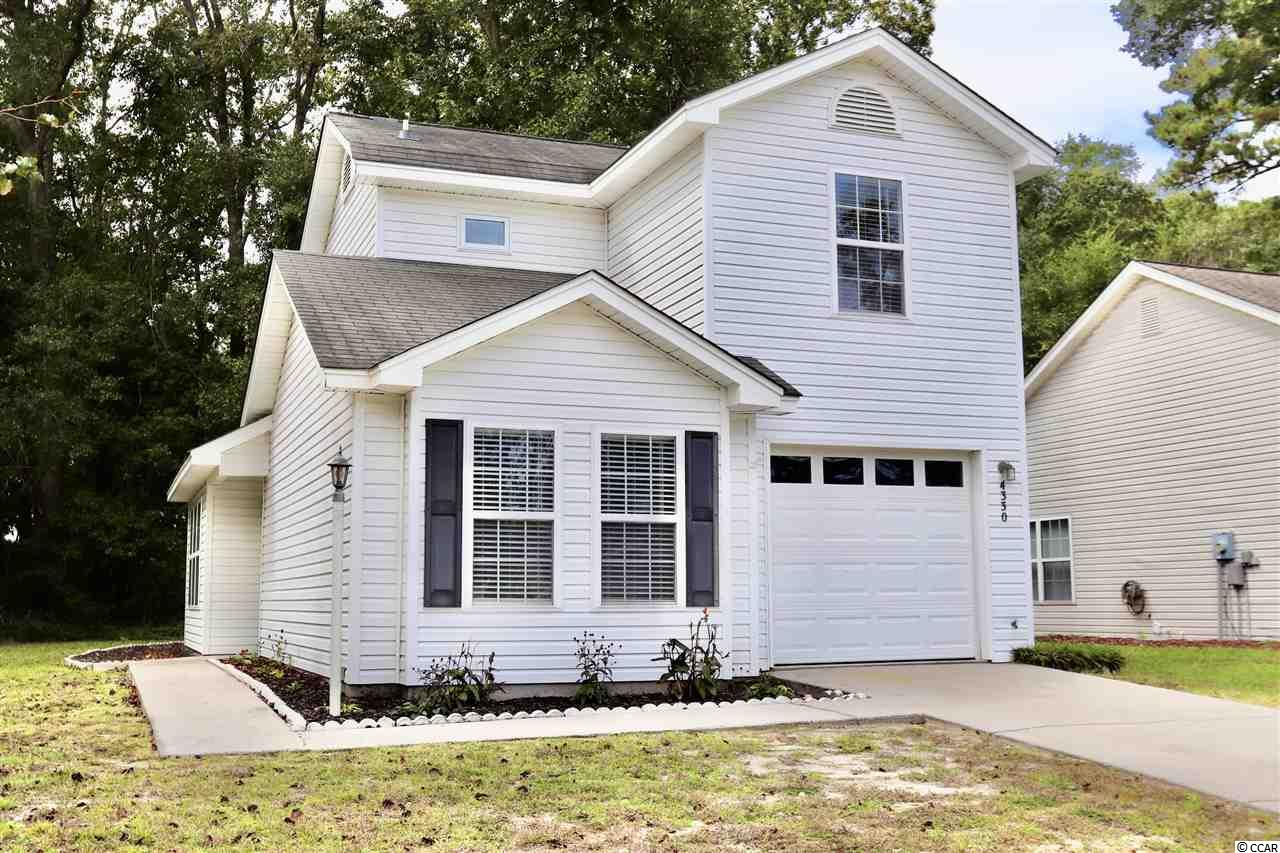 NO HOA in the heart of Little River! Come see this 3 bedroom, 2 bath home! JUST FRESHLY painted (August 2020) to all neutral gray colors, and painted garage!! Open Floor plan with Master on the Main floor, and laminate flooring. All appliances, including washer and dryer remain with home! Partially furnished! Centrally located and just a short golf cart ride or drive to the Intracoastal Waterway,Waterway Restaurants, Golfing, Grocery, Shopping, The World Famous Blue Crab Festival, The Casino Boat, Live Music and more! HOME WARRANTY WITH HOME -SOLD AS IS.